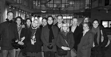 Junge Journalisten in London –<br />Besuch bei der BBC